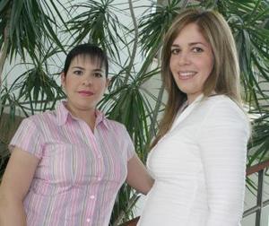 Adriana Martín del Campo y Alejandra Sánchez de Necochea.