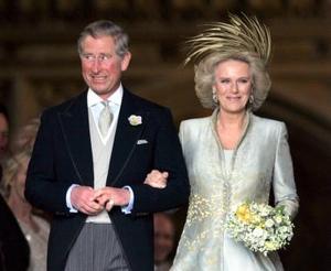 Los asistentes, que fueron invitados el pasado febrero y se encontraban en el interior de la fortaleza del castillo, pertenecen a distintas organizaciones benéficas para las que trabajan el príncipe de Gales y la ahora duquesa de Cornualles.