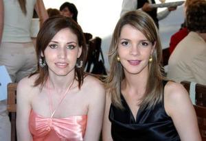 Katia Madero y Alejandra Martínez.