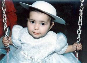 Dulce Romero Mora, en su fiesta de cumpleaños.
