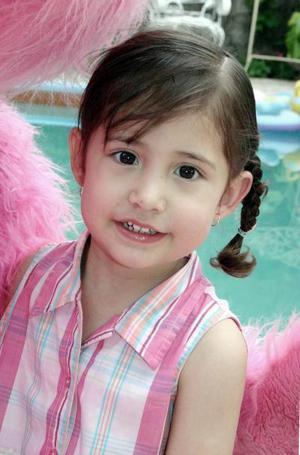 La niña Christian Urby Ramírez cumplió trres años de vida.
