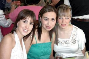 -Gaby de Obeso, Magda Navarro e Isabel Cobo.