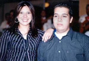 Karito y Rodrigo Lumbreras festejaron su cumpleaños en días pasados.