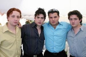 Eneko Balausteguigoitia, Carlos Martínez, édgar Valadez y Christopher Sánchez.