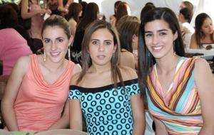 Carla Setién, María Fernanda Borbolla y Ana Luisa García.