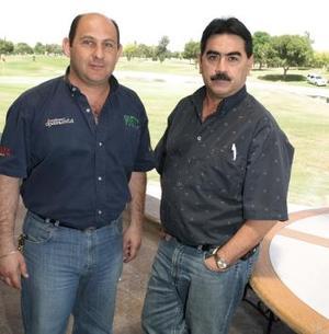 Gerardo Mafud y Ricardo Diez.