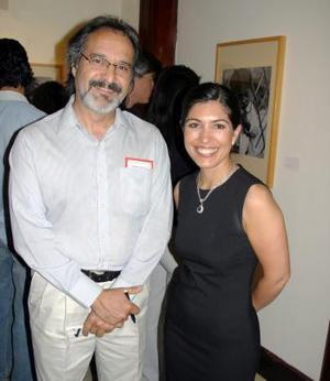 Sofía Camil y Salvador Botello.