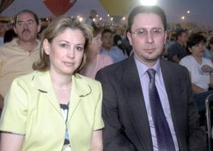 Alexandra de Hamdan y Jorge Hamdan.