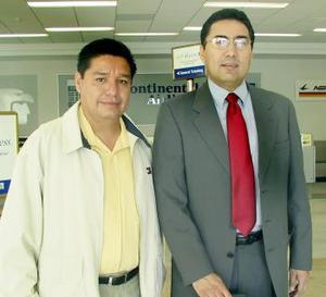 Julio Rangel y Martín Campos.
