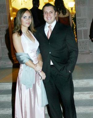 Ileana Villa y Federico Sánchez.