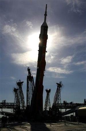Nueve minutos después del lanzamiento, la tercera y última fase del Soyuz-FG alcanzó la denominada órbita de ajuste y se produjo la separación de la nave del cohete portador.