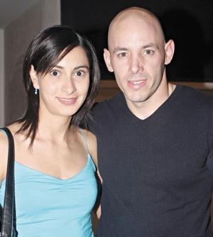 Laila Reyes de Sada y Rogelio Sada