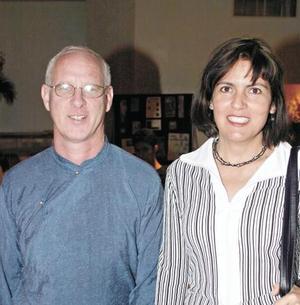 Jhampa Shaneman y Raquel Lozano