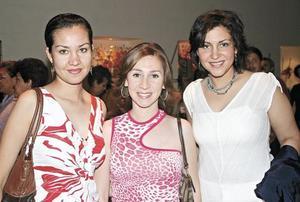 Melissa Villarreal, Rosina Olhagaray y Claudia Velasco