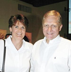 Pam y Chuck Kaufman