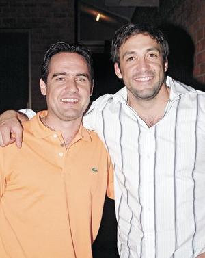 Iván Gutiérrez y Gustavo Aizcorbe