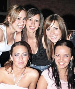Ana Yolú Barranco Rivera, Bárbara Rubio Gutiérrez, Regina Setién de Gutiérrez, Gaby Villarreal Segura y Susana del Bosque Martínez