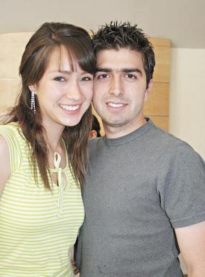 Sara Escalante Nogueira y Carlos Zavala Rocha