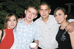 Laura García, Rodrigo Murra, Marcelo Valdés y Katya Nahle