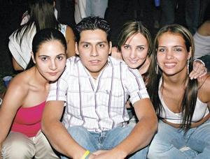 Karla Dabdou, Sergio Gutiérrez, Marcela Albéniz y Anabel Allegre