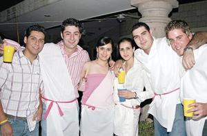 Sergio Gutiérrez, Luis Gibert, Lulú Macías, Zaida Faccuseh, Pedro Ruenes y Diego Maisterrena
