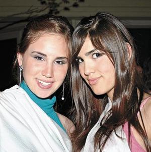 Caty Farías y Fendy Rodríguez