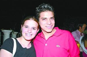 Ana Gaby González y Diego Saucedo
