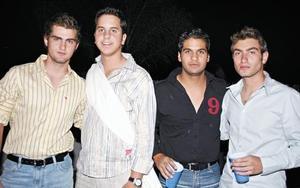 <I>Original Festejo</I><P>Eduardo Sesma, Santiago Gómez, Alejandro Arias y Eduardo Murra