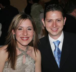 Maribel Correa y Sergio Berlanga.