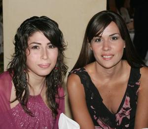Sofía Siller y Marcela Arizpe.