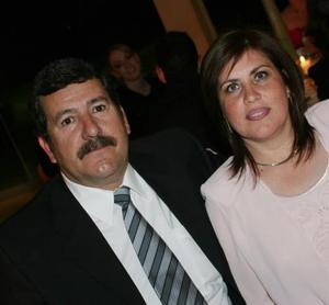 Ernesto García Núñez y Georgina González de García.