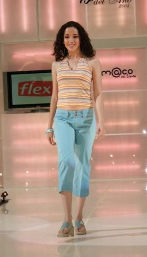 Grisel González obtuvo el tercer lugar. <p> El jurado calificador -integrado por la señora Nury Farrús de Murra y Melissa Cantú Rosales, Nuestra Belleza Coahuila 2004, entre otras personalidades- eligió también el segundo y tercer sitio del concurso.