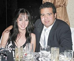Mónica González y Rodrigo Castañeda