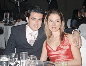 Alberto Rosales y Karla Zúñiga