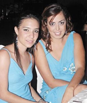 Fernanda García y Anny Chaldez