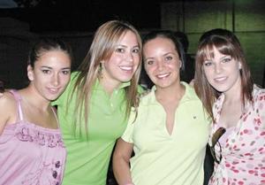 Edna garza, Anayolu Barranco, Marisu del Bosque y AnaVilly Estrada