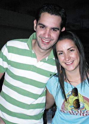 Felipe Pérez y Lucero Velázquez