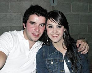 Paulina Giacoman y Roberto Tueme