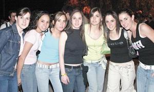 Mariana Larrínaga, Diana Nahle, Mary Fer Borbolla, Regina Ibarguengoytia, Ana Gaby Humphrey, Maria Jose Jiménez y Carla Setién