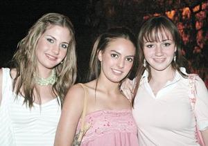Mayosa Barboglio, Marycarmen Garrido, Luisa Martínez