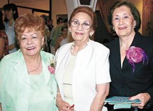 Oli de Medina, Guille de Villarreal y Lolita de Rebollo