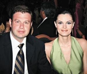 Jorge Sada y Cecilia Monterrubio