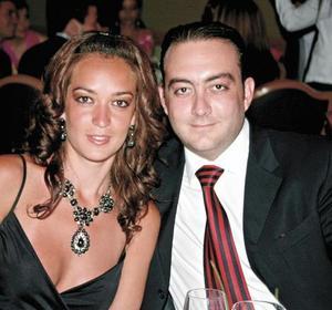 Paulina Dibildox y Yamil Mansur