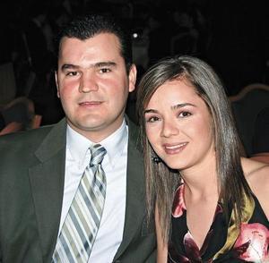 Alfredo Leal y Marcela Pérez de Leal