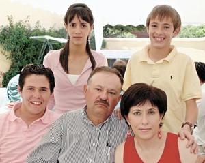 Cristy Belausteguigoitia, Iñigo Rumayor Belausteguigoitia, Andoni Rumayor Belausteguigoitia, Lito Rumayor y Lourdes Belausteguigoitia de Rumayor