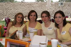 Selina Sada, Alejandra Lamberta y Regina y Katia Madero.