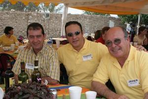 David Madero, Eduardo Ibarguengoytia y Javier Pérez Aguilera.