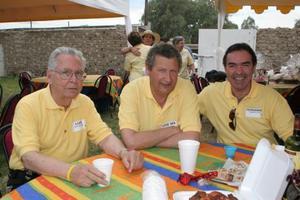 Luis Amarante, José María Giménez y Fernando Humphrey.
