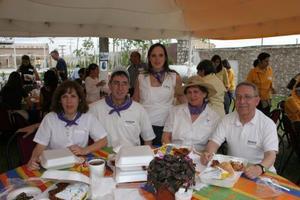 Marian Lozano de Mac Gregor, Joaquín Mac Gregor, Lucía T. Lozano, María Antonieta de la Garza de Lozano y Hugo Lozano Maldonado.