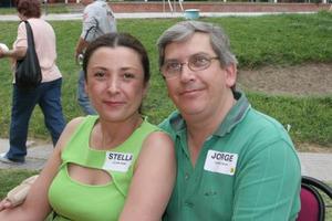 Stella Glenn Uribe y Jorge Cepeda Silva.